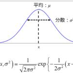 最尤推定・最尤法~与えられたデータから確率分布のパラメータを推定する~