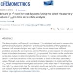 ソフトセンサーの検討など時系列データを解析するとき用のモデルの評価指標 (改良版 r2) [金子研論文]