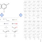誘導体の化学構造を自動生成するプログラムを作りました。ご自由にお使いください