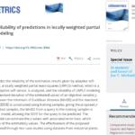 Locally-Weighted Partial Least Squares (LWPLS, 局所PLS) における目的変数の予測誤差を推定する手法を開発しました![金子研論文]
